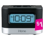 iHome Docking Travel Alarm Clock
