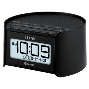 Bluetooth, Dual Alarm FM Clock Radio with USB Charging Port